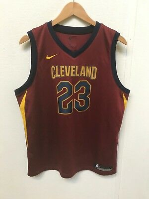 4a7a6eadb2a1 Nike Cleveland Cavaliers Men s NBA 2018 Away Jersey - 18-20 Years- James 23