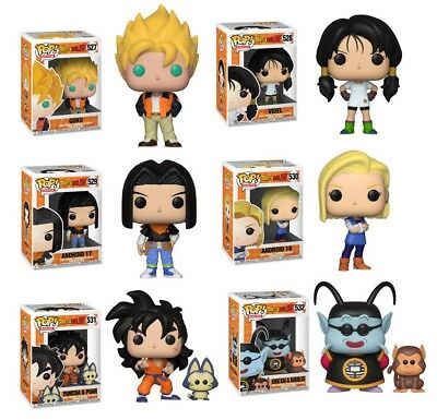 Funko Pop Dragon Ball z Wave 5 : Individual or Set Vinyl w/Protector Case