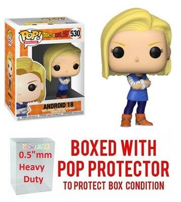 Funko Pop Dragon Ball Z Wave 5 - ANDROID 18 #530 Vinyl w/ Case -IN STOCK-