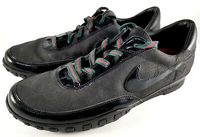 huge discount 01ece 88131 Nike Waffle Racer III 3 Running Shoes SZ 14 Mens Sneakers Black Red RARE