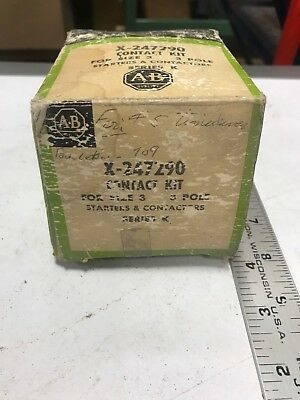 Allen-Bradley X-247290- Contact Kit For Size 3, 3P, Starter & Contactors