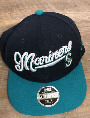 timeless design 92be3 9841f ... italy seattle mariners mlb snapback new era 9fifty compass baseball hat  cap youth c38a8 088cd