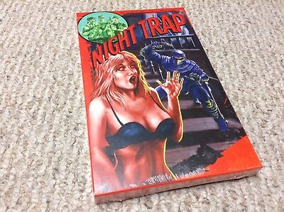 PS4 NIGHT TRAP Collector's Edition NEW & SEALED video game Limited Run Games