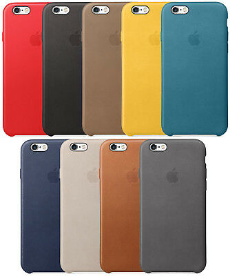 OEM Original Apple Leather Case For Apple iPhone 6 Plus and iPhone 6s Plus