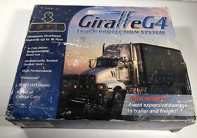 Giraffe G4 Overhead Collision Alert System In Cab Read Out Complete New Oldstock