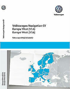 RNS510 SKODA SEAT VW V16 RNS810 2019 Navigation Map West Europe + Update CD