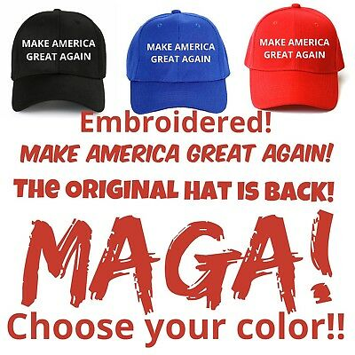 2020 MAKE AMERICA GREAT AGAIN HAT President Trump MAGA Inspired EMBROIDERED 2020