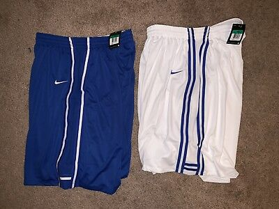 6518d0fc5b5a BNWT NIKE MENS Basketball Shorts S-XL - Royal   White - Nike Team ...