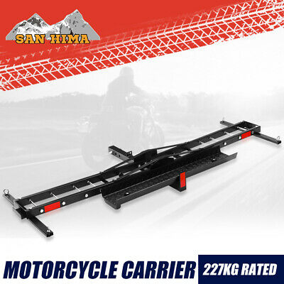 Motorcycle Rack Carrier For Car Rear Towbar Hitch Mount 227KG Max 2inch