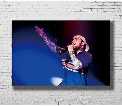 24x36 14x21 40 Poster Mac Miller Music Rapper Star Art Hot P-4229
