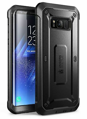 SUPCASE Samsung Galaxy S8/S8+ Plus Case Full-Body Rugged Holster Cover Protector