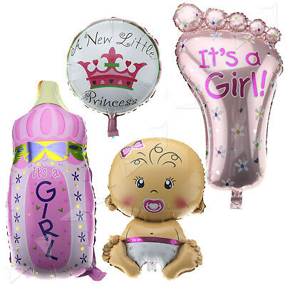 Baby Shower Foil Balloon Inflatable Helium Party Decoration Girl