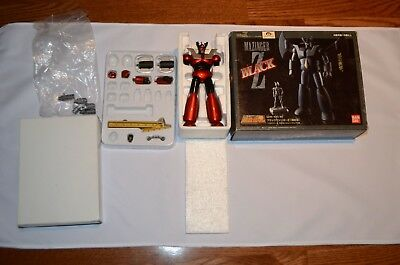 HOT DEAL! Unique Customized Vivid Wine Red Silver Coloring Mazinger Z Bandai
