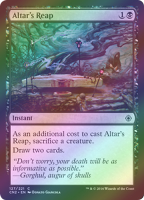 FOIL Death Wind CONSPIRACY 2 Take the Crown MTG ~~~~~ NEAR MINT