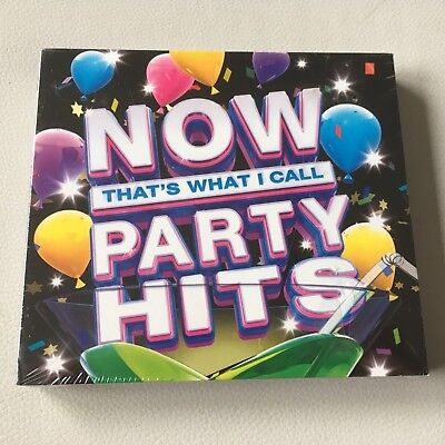 Now That's What I Call Party Hits - New & Sealed 3 x CD Set - FREE FAST UK POST