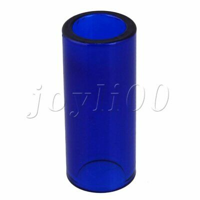 28x20x67mm Dark Blue High Boron  Glass Guitar Slide for Acoustic Electric Guitar