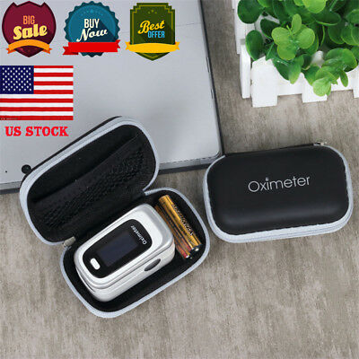 US New Fingertip Pulse oximeter SpO2 bag, carrying case, pouch, Protective Bag