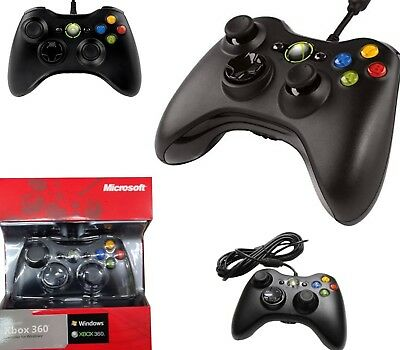 Controller Xbox 360 Joystick Cavo Usb Per Pc Windows Joypad Gaming Con Filo N