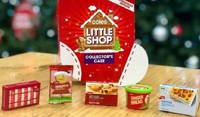 *NEW* Coles Little Shop Christmas Gingerbread Ice Cream