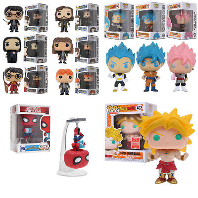 Funko Pop! Harry Potter Dragonball Spider Man Naruto Figurine en Vinyle Jouets
