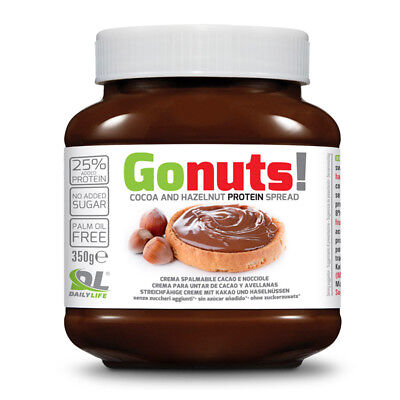 Daily Life - GoNuts - 350g, Crema spalmabile con proteine