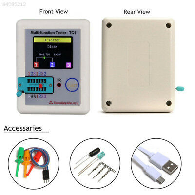 ED5C Test Meters Electronic Component IR Decoder Transistor Tester