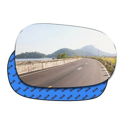 Right convex mirror glass Renault Clio Mk2 1998 - 2006 27RS