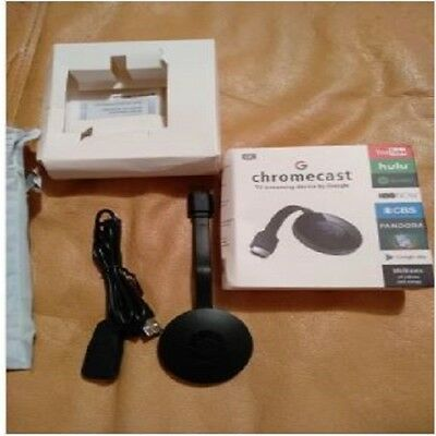 Chromecast Hdmi 1080 Hd Wireless 2° Generazione Internet Media Video