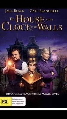The House with a Clock in its Walls (DVD, 2018) Brand New Sealed Region 4