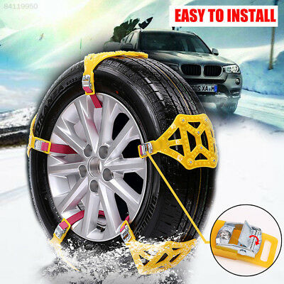 A6FE TPU Yellow Snow Chain Universal Thickened Mud Wheel Accessories