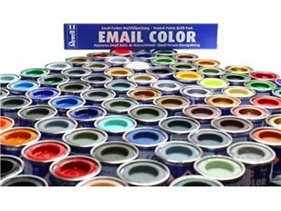 Revell Enamel Model Paints (14ml) - Single Postage Charge of £2.95 Per Order