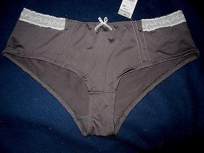 Superbe Culotte/shorty  Sexy  Femme  Gris    T48+   Neuf