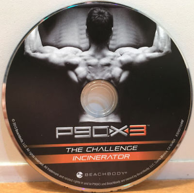 Beachbody P90X3 Incinerator  / The Challenge 1 Replacement DVD Only BRAND NEW