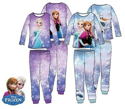 Girls Disney frozen pyjamas BNWT Blue Age 6 Years