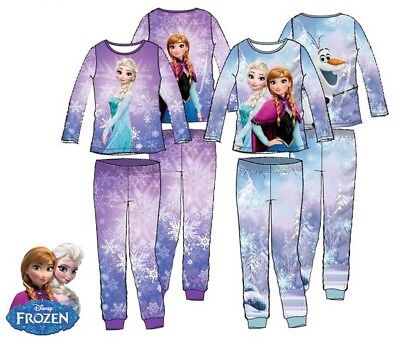 Girls Disney frozen pyjamas BNWT Blue Age 8 Years