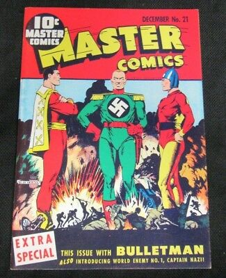 Flashback Comics #18 (1974) Reprints Master Comics #21 F/VF to VF X572