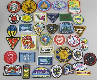 HUGE LOT OF 135 SDA Adventist Youth Pathfinder Camporee Patches & Honor  Badges