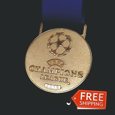 Medal Replica Champions League 2017/2018 Real Madrid Kyiv Football Champion