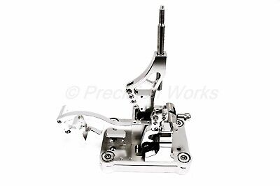 PW Acura RSX Billet Shifter Kift Box + Plate K Swap K-Series K20 K24 No Cut