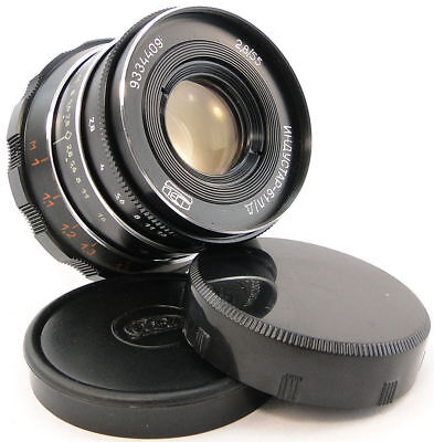 ⭐NEW⭐ INDUSTAR-61 L/D Lens E-Mount Sony NEX-3 C3 F3 3N 5 N 5R 5T 6 A 7 7R 7S A9