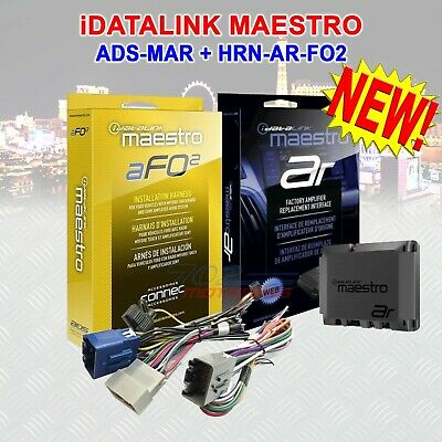 IDATALINK MAESTRO HRN-AR-FO2 T HARNESS ADS-MAR INTERFACE FOR SELECT FORD  VEHICLE
