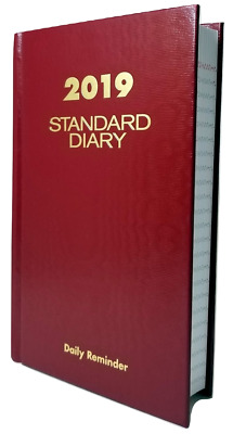 "2019 At-A-Glance Standard Daily Diary - SD385,  Page size 4"" x 6 5/8"""