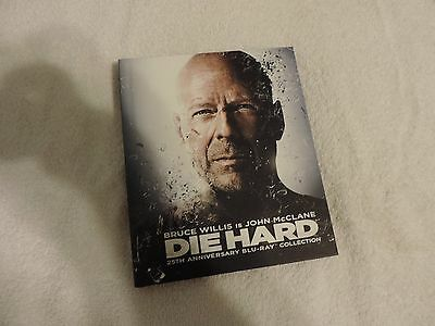 Die Hard 25th Anniversary The Ultimate Collection (ALL 4 MOVIES) NEW BLU-RAY SET