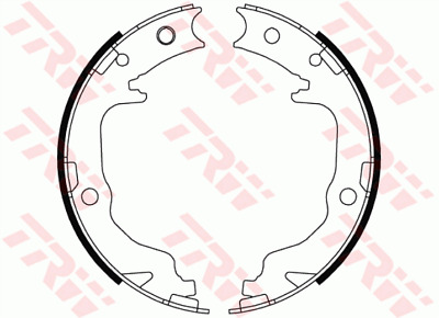 Genuine QH Brake Cable Fits Mitsubishi Outlander 2.2 DiD 2.2 DiD 4Wd 2.0 DiD