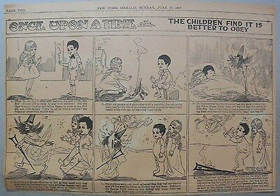 Once Upon A Time by Clyde Ludwick from 6/17/1917 Half Page Size