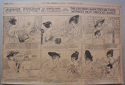 Once Upon A Time by Clyde Ludwick from 12/23/1917 Half Page Size