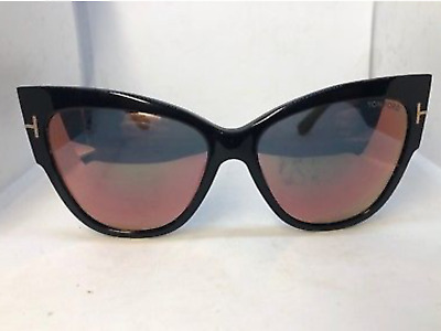 3f973089f80c2 TOM FORD ANOUSHKA TF371-01Z Oversized BLACK Cat Eye - $65.00 | PicClick
