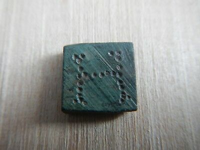 Ancient Roman Byzantine Square Weight Bronze
