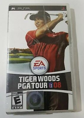 Tiger Woods PGA Tour 08: Sony PSP videogame - NEW and sealed