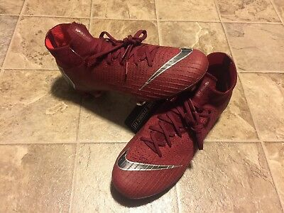 67dabc34fc1 SZ 6 Nike Mercurial Superfly 6 Elite FG Firm Soccer Cleats Red Men s AH7365- 606